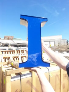 Blue Channel Letter, Wholesale Channel Letters