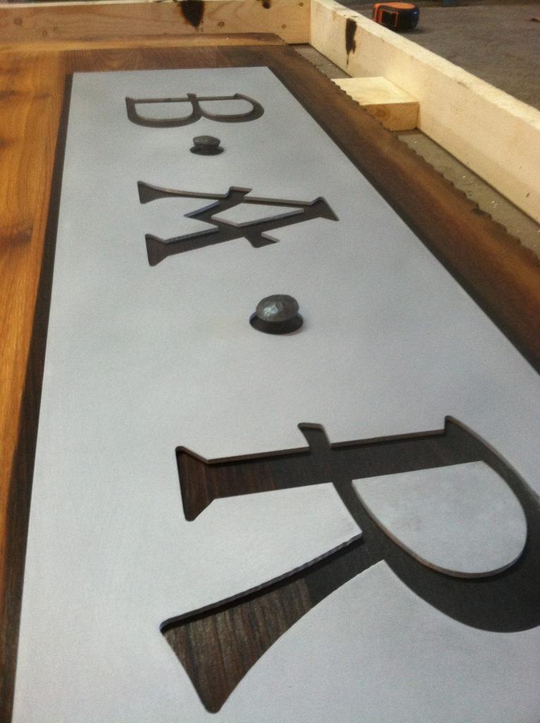 Custom Wood Backer Sign, Wholesale Channel Letters